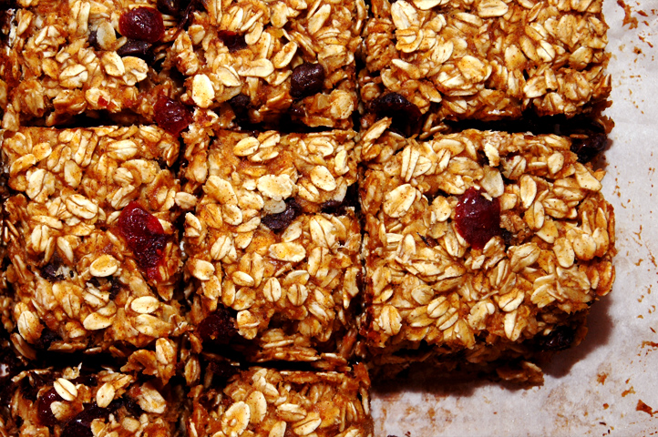Deliciously Distracting: Chewy Pumpkin Granola Bars