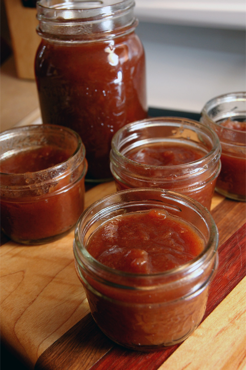 Eat it direct from the jar like a rich apple sauce or spread it on a flaky biscuit, however you please this apple butter is smooth and flavourful and helps you ignore reality for just a few moments of flavour bliss.