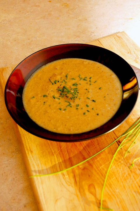 Curried Cauliflower Soup