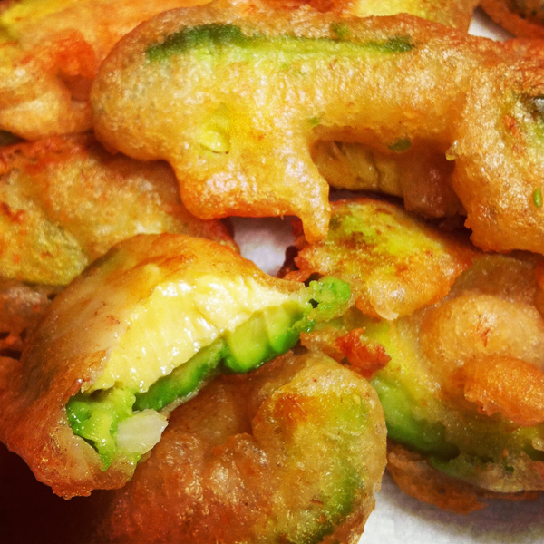 Whole Wheat Beer Battered Avocado