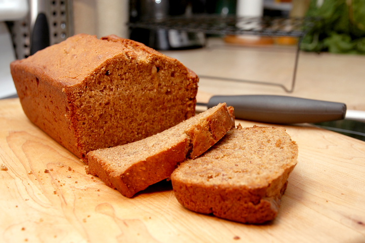 Zen Banana Bread (vegan)