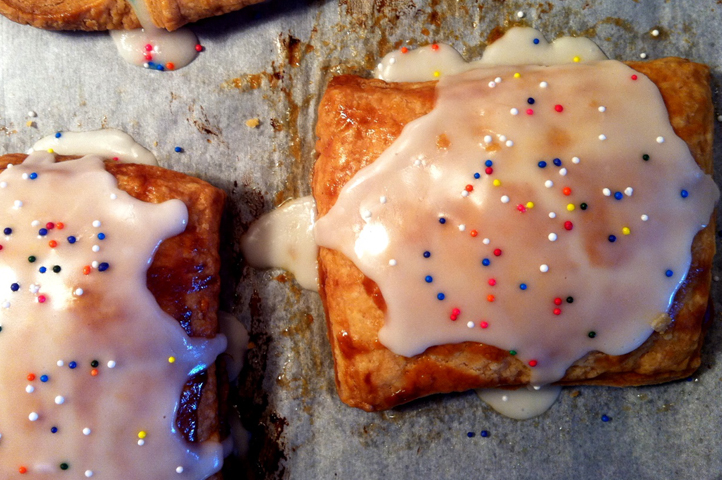 "Today we've made homemade ""Pop-Tarts"" and they are spectacular!"