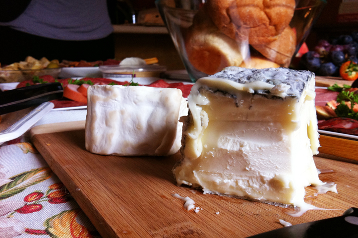 Ah, the divine presence of fine cheese.