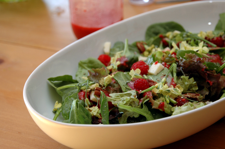 A Better Raspberry Vinaigrette