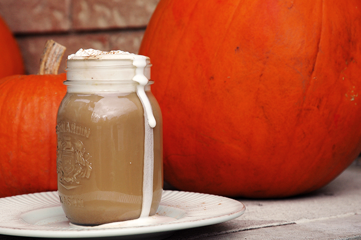 Less Bucks, Homemade Pumpkin Spice Latte