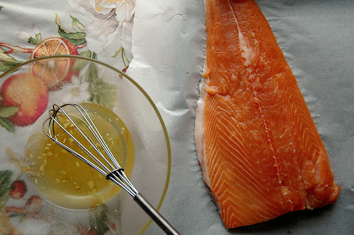 Salmon, Vesper Glazed Salmon
