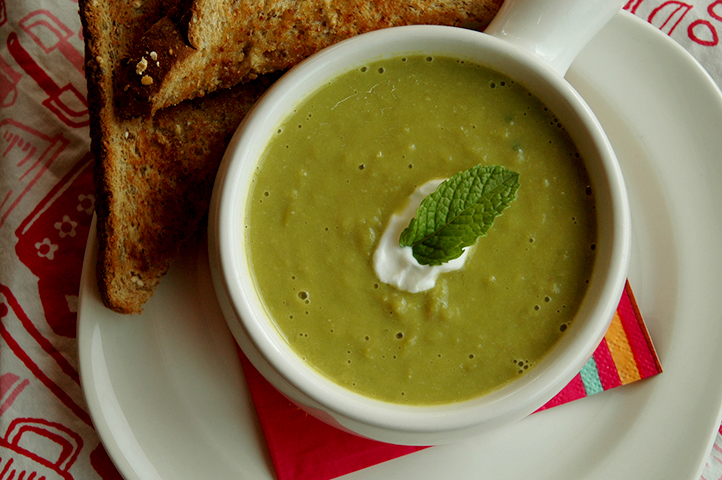 Give Peas a Chance: A Lennon Inspired Soup