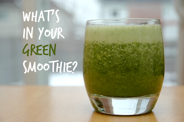 Get Your Green On, Smoothie Style