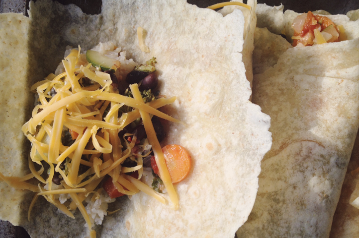 Keep the Fiesta Going with Baked Black Bean Burritos