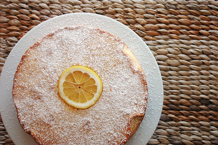 Lovely Lemon Pound Cake