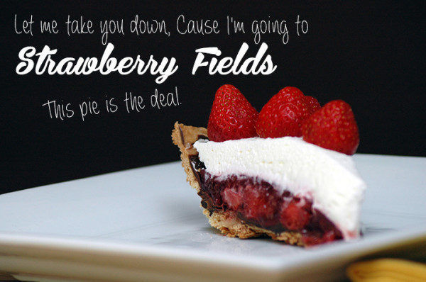 I'm like the Weird Al of food bloggers. Seriously though, this strawberry pie may be a little late for the season but it's a year-round must try.