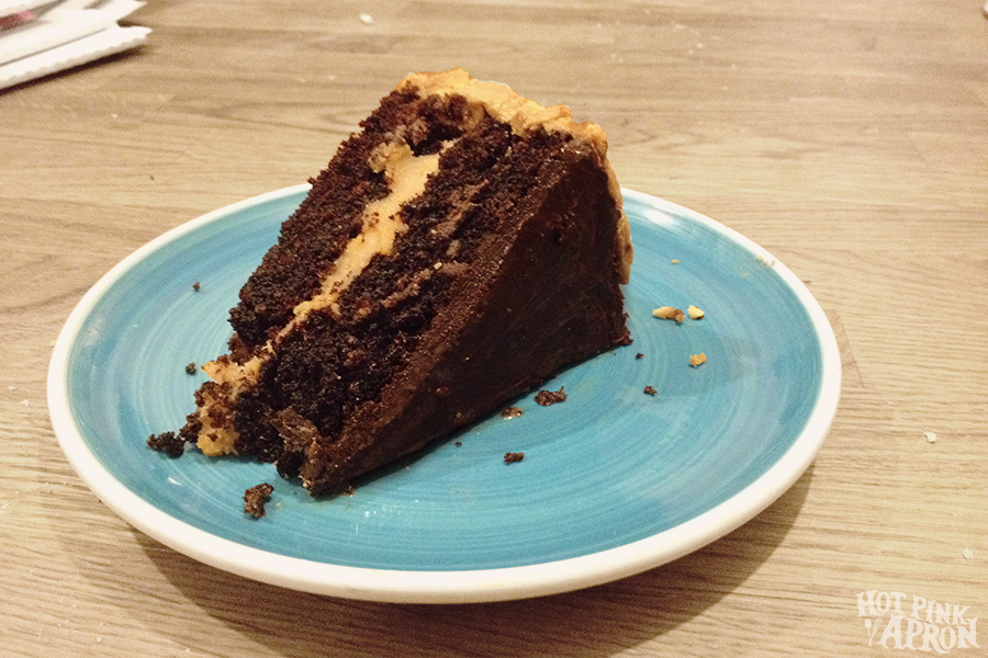 Eating it, however, is a piece of cake. ;)