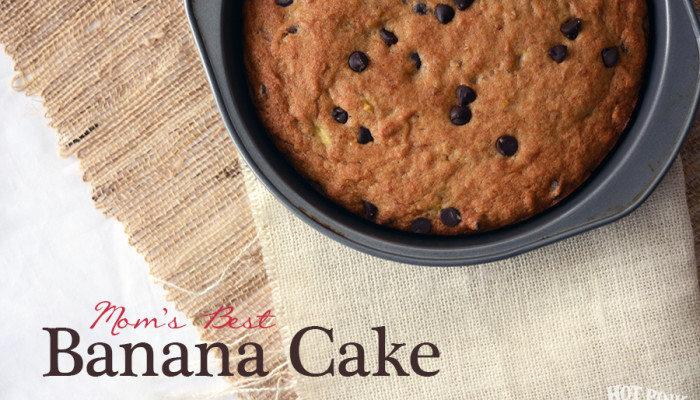 Mom's Best Banana Cake