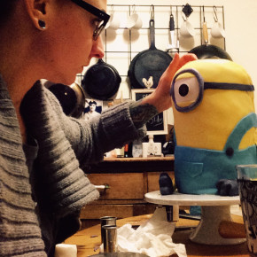 Spend the next 3 hours bringing your minion to life.