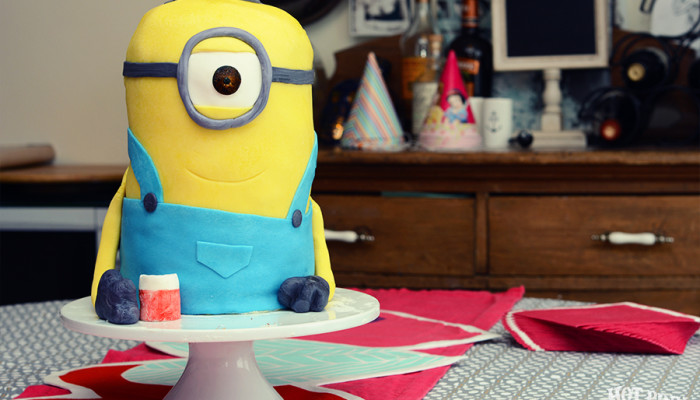 The Making of a Minion Cake