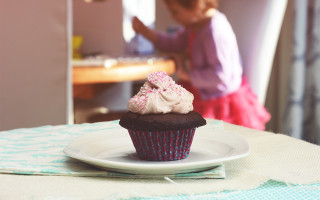 Beautiful Dreamer Vegan Chocolate Cupcakes