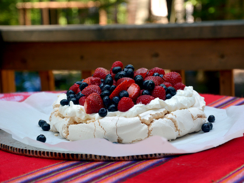 All The Berries Pavlova
