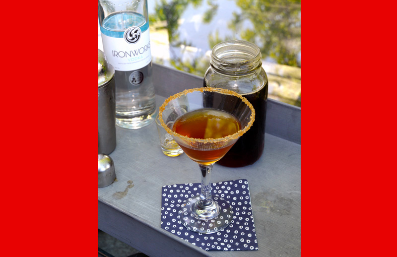 It's Canada Day! Drink a Maple Syrup Martini.